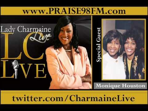 (Whitney Houston Former Sister-in-Law) Monique Houston on Lady Charmaine Live