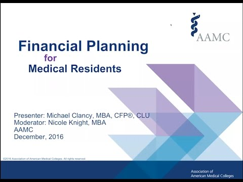 Financial Planning for Medical Residents