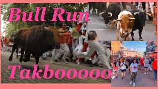 Running Of The Bulls..Encierro /Tatakbo Ka Ng Mabilis