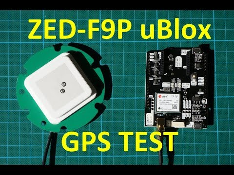 New uBlox F9 GPS test & quick comparison to M8 series - Blog