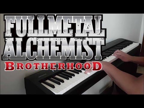 "Fullmetal Alchemist Brotherhood Opening 4 - ""Period"" (Piano W/ Lyrics)"