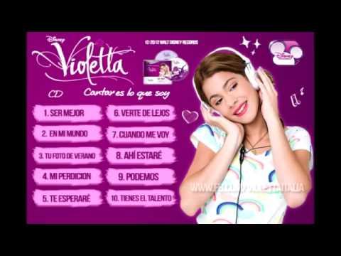 Violetta: Cantar es lo que soy... 2 CD completo