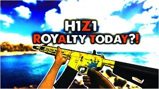 H1Z1 King of the Kill - Royalty Today!? Bought New Skins! | 15/50 Sponsors ✔️ 250 Likes!?