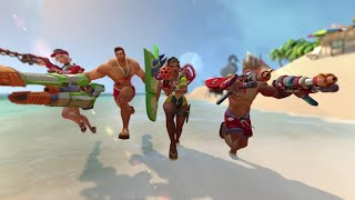 Paladins - Shore Patrol Battle Pass Trailer