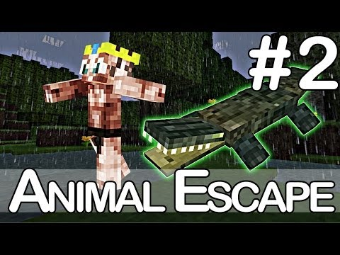 MINECRAFT ANIMAL ESCAPE! - Zookeeper Enzo Knol #2