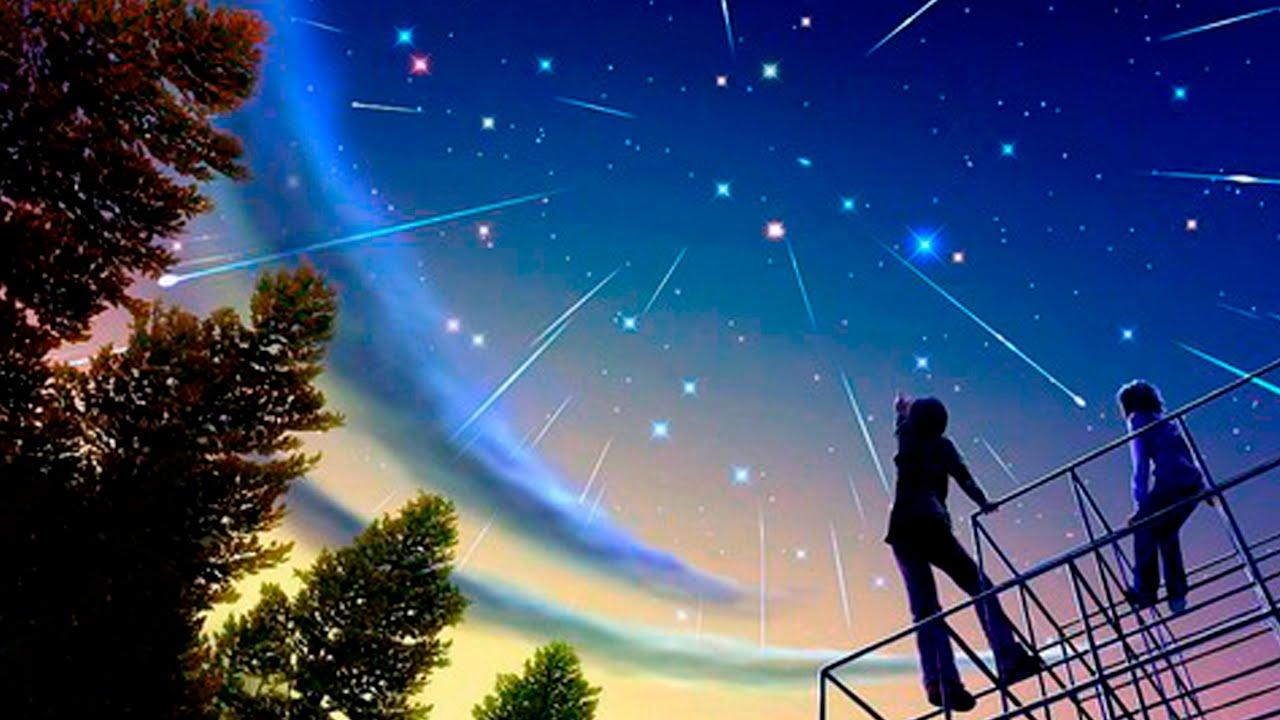 Астрономия для начинающих: Метеорные потоки - YouTube