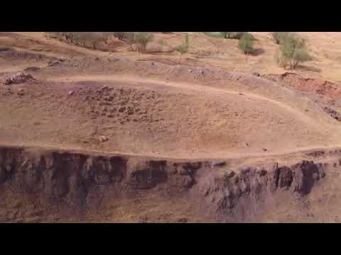 Dron Volando Sobre Los Restos Del Arca De Noé (Turquía 2-2)  ArkDiscovery.com