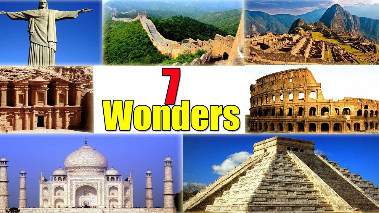 essay on 7 wonders of the world Five paragraph essay we just spent the past few days learning about the seven wonders of the ancient world in 2007, the new7wonders foundation organized a poll of.