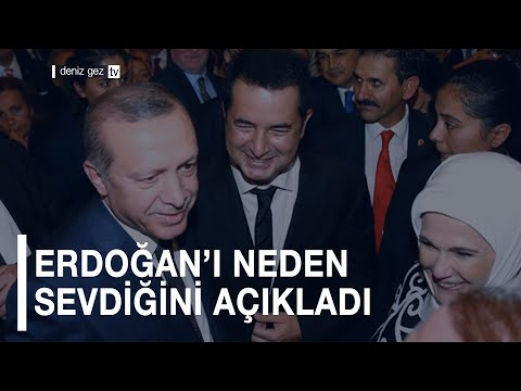 ERDOĞAN'I NEDEN SEVDİĞİNİ AÇIKLADI (Acun Ilıcalı)