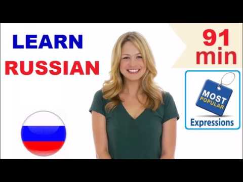 Learn Russian - Common Words & Expressions