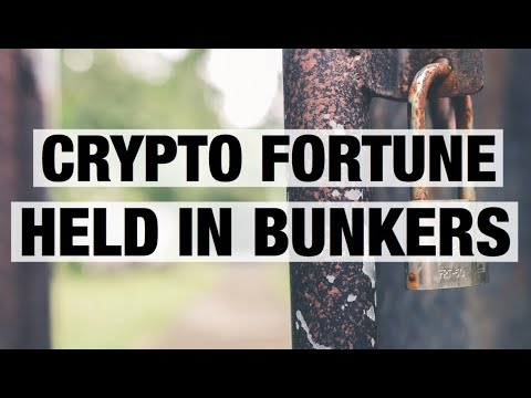 Crypto Fortune Held In Bunkers - 7% Of All Bitcoin!