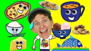 What Do You Want To Eat? Song Part 2 for Kids | Food Song | Learn English Kids