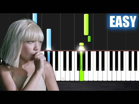 Sia - Big Girls Cry - EASY Piano Tutorial by PlutaX
