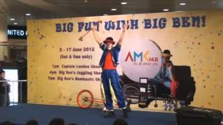 Big Ben Amazing Circus Show - Birkun Productions Professional Circus for hire in Hong Kong