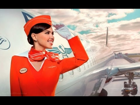 From St.Petersburg to Moscow by Aeroflot, business class A-320
