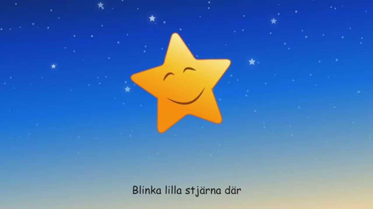 Blinka lilla stjärna - YouTube