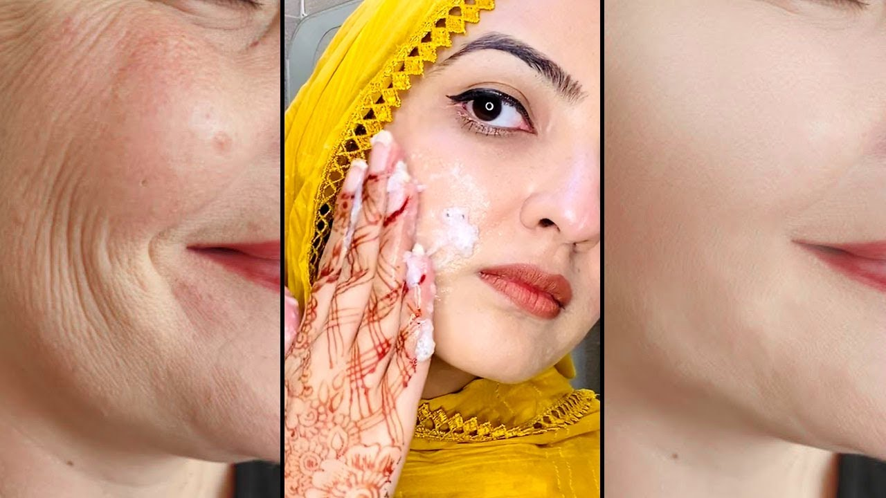 Anti Wrinkle & Skin Tightening Just 1 Home Remedy Saggy Facial Pack