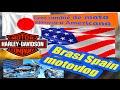 Moto Japonesa o Americana? Mira que ocurrió !!  - Harley Davidson motovlog 14 en español