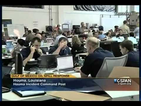 Louisiana Incident Command Post