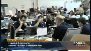 Louisiana Incident Command Post