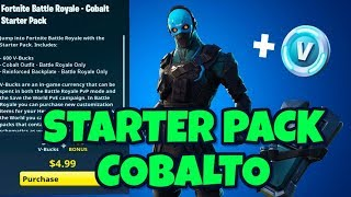 New STARTER PACK COBALTO FORTNITE: content, price and release date