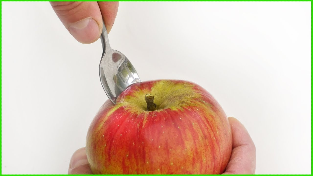 Would you eat an Apple like this? - Food Life Hack