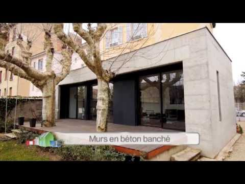 Extension En Beton Banch Ma Maison SAgrandit France   Youtube