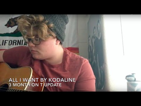 FTM 3 Months on T Singing Update: All I Want by Kodaline Cover