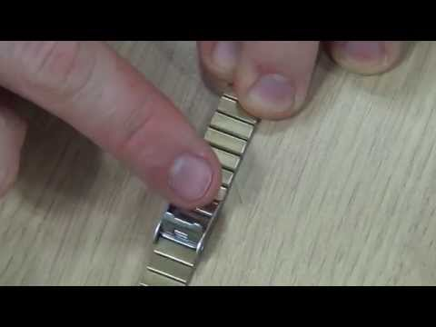 How To Adjust A Casio Slide Clasp