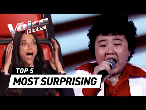 MOST SURPRISING Blind Auditions Of 'The Voice Kids' Worldwide