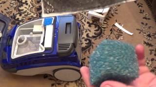замена фильтров в пылесосе томас твин (thomas twin tt)