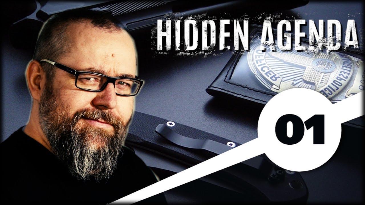 HIDDEN AGENDA (01) Mocny Kryminał