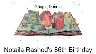 """جوجل يحتفي بـ""""نتيلة راشد"""".. معلومات عن """"ماما لبنى"""""""