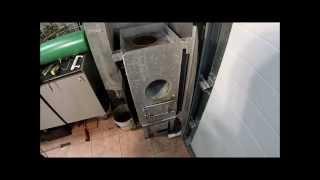 видео Печь для гаража: купить или сделать своими руками, самодельные конструкции
