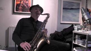 Blue and Sentimental on Tenor Sax