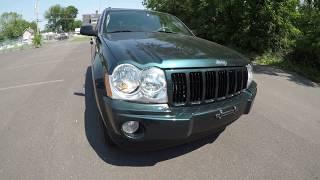 4K Review 2006 Jeep Grand Cherokee Laredo Virtual Test-Drive and Walk around