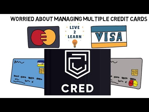 Manage All Credit Cards From Single Mobile App... CRED Mobile App Overview