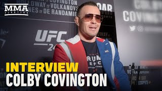 Colby Covington Predicts Kamaru Usman 'Ragdolls' Jorge Masvidal, Eyes Rematch in 2020 - MMA Fighting