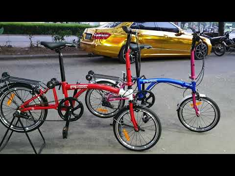 Sepeda Lipat Element Pikes 4jutaan Chromoly Trifold Bukan Brompton Yah Youtube