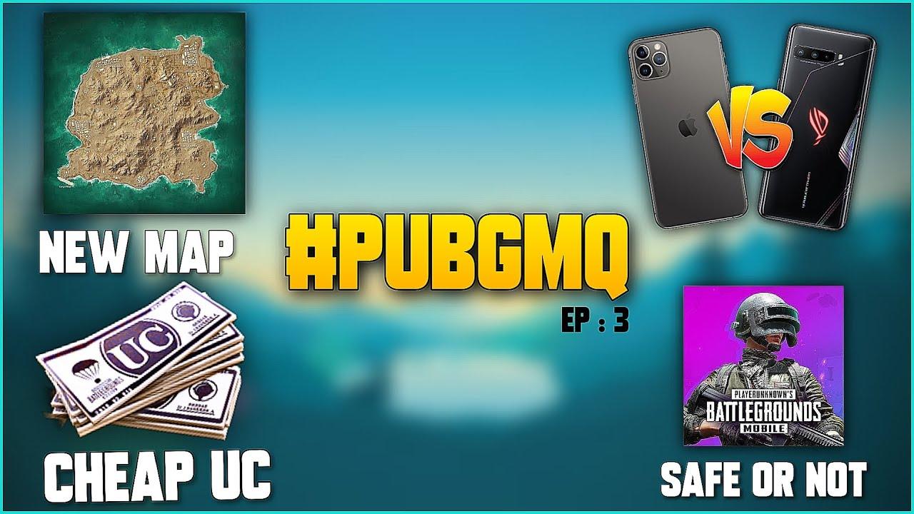 #PUBGMQ - GFX TOOL SAFE FOR PUBG,HACKER BAN,IPHONE 11 VS ROG 3,KARAKIN MAP,PUBG KR SAFE OR NOT ?
