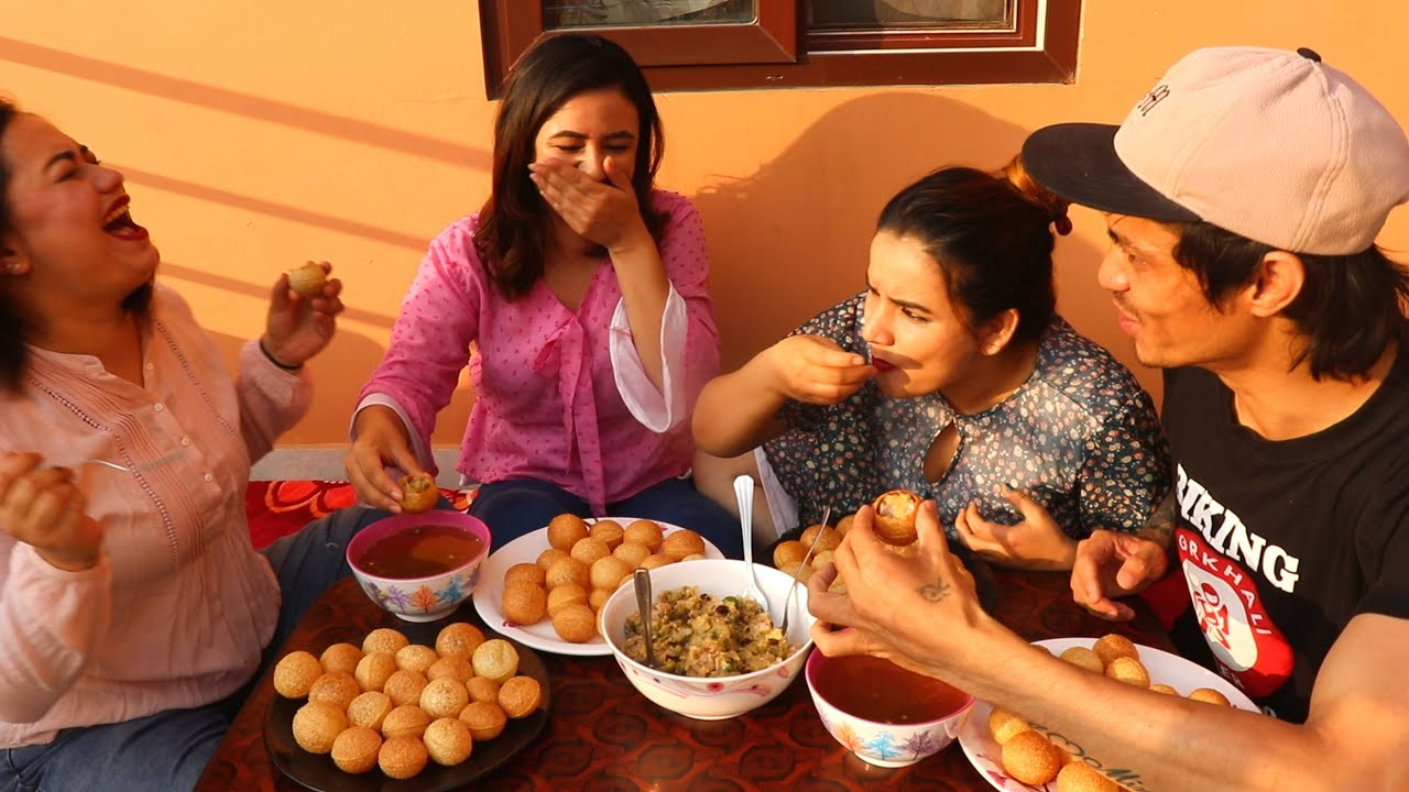 80 Panipuri Challenge With My Sisters | Hilarious Reaction