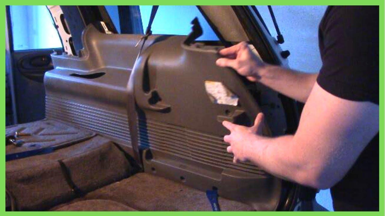 Replacing Rear Ac Blend Door Actuators Chevy Trailblazer 2002 Ext Lt Hot Cold Head Feet Youtube