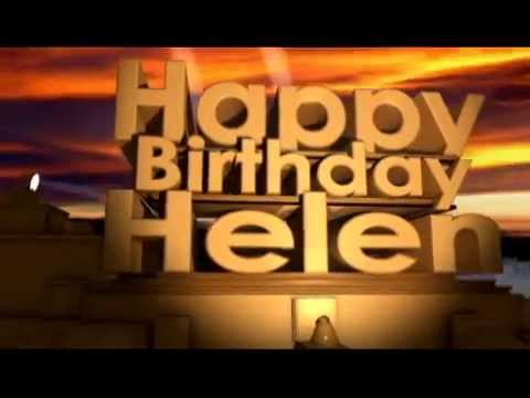 Happy Birthday Helen Youtube
