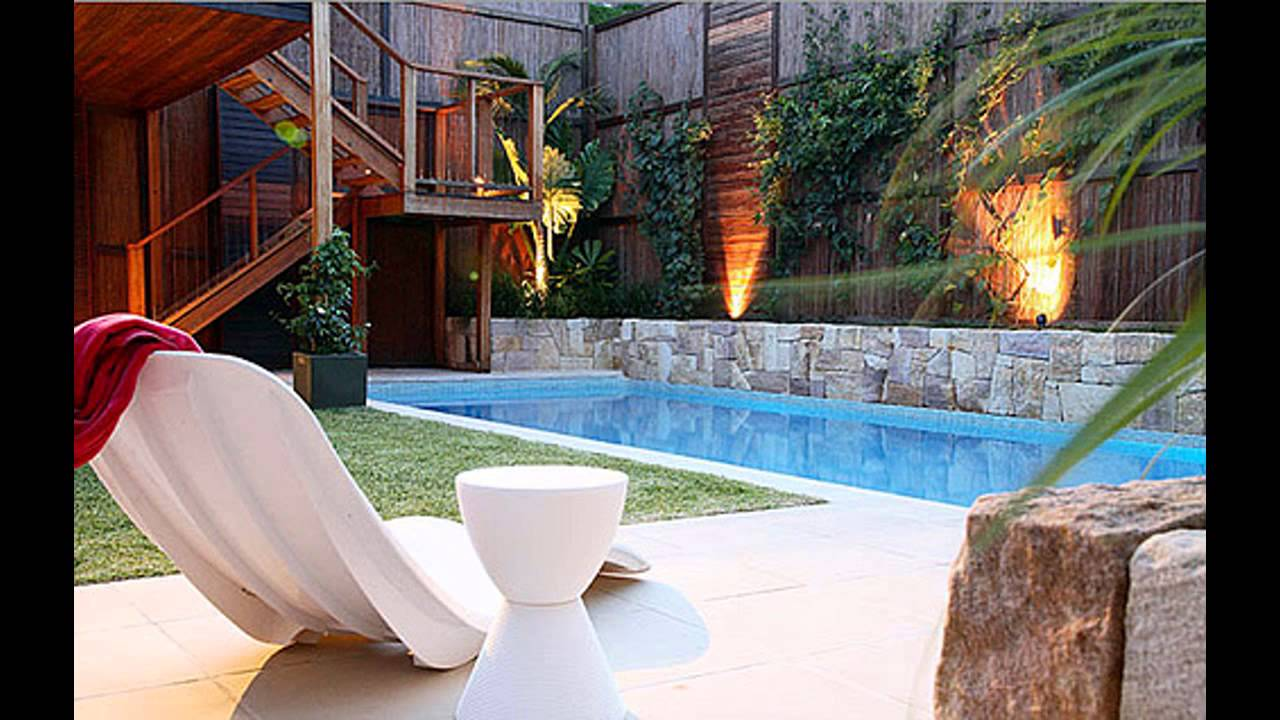 Stunning Small Garden Swimming Pools Youtube
