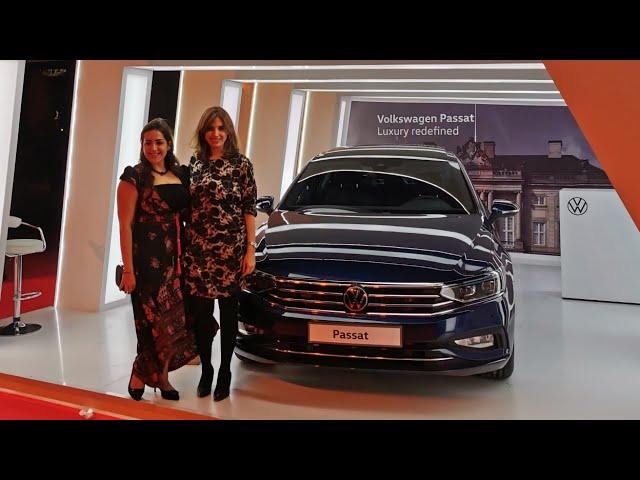 شرح كامل عن السيارة passat 2021 مع مها النجار مدير عام المبيعات والتسويق بفولكس فاجن