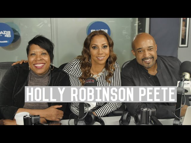 Holly Robinson Peete Talks Reboot Of '90's Sitcom Classics + New Reality Show 'Meet The Peetes'