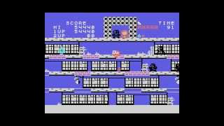 Ninja Jajamaru-Kun / 忍者じゃじゃ丸くん (MSX) - Gameplay