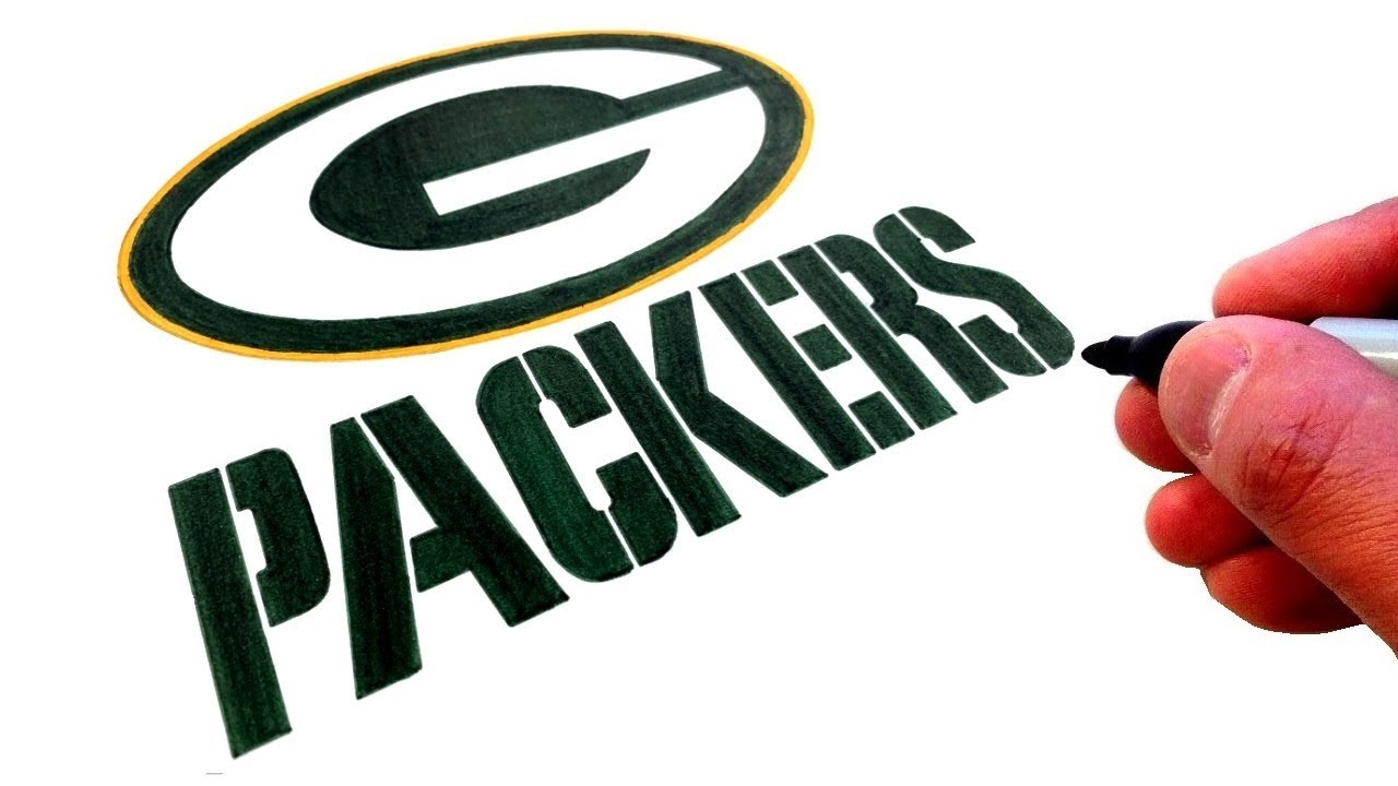 How To Draw The Green Bay Packers Logo Youtube