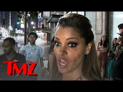 Claudia Jordan Gets Punched at BET Awards, By Omarosa's MOM?! | TMZ