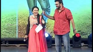 Venkatesh Dancing on the stage at Akhil Grand Launch